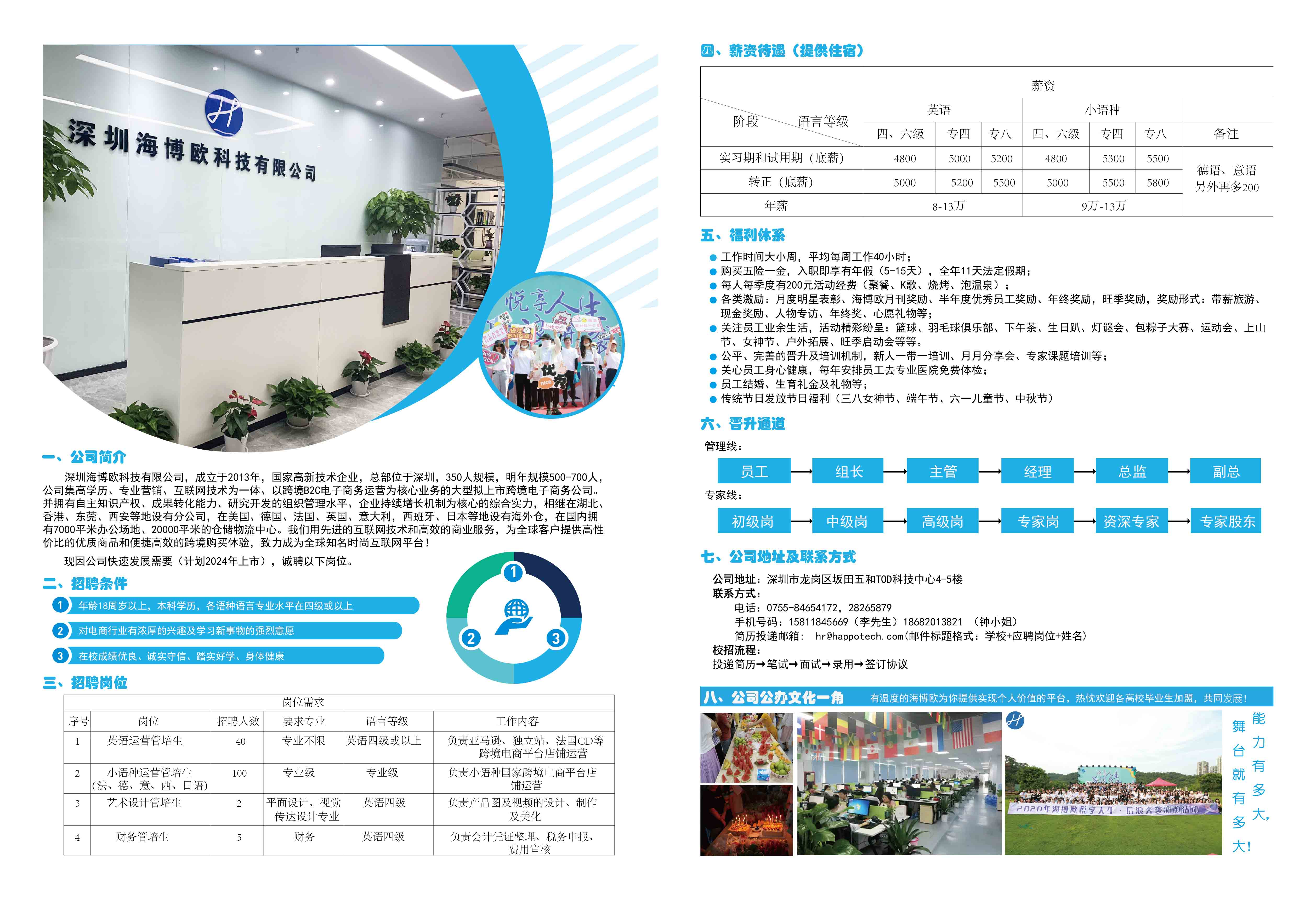 深圳海博欧科技有限公司宣讲会